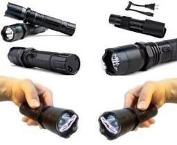 Lanterna De Led E Choque Potencia E Recarregavel frete sem custo