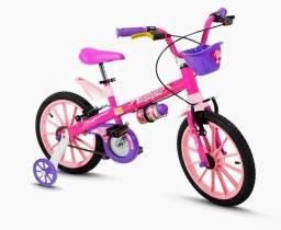 ROMOÇÃO bicicleta infantil top girls aro 16 NOVA