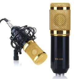 Microfone Condensador Bm800 novo