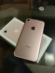 IPhone 7 128gb Rose! Aceito cartão até 6x com acréscimos