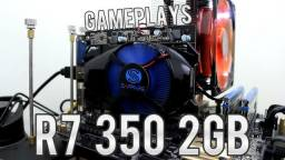 Placa De Video AMD Radeon R7 350 2Gb 128bits