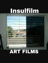 Insulfilm películas em até 6x nos cartões
