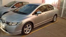 Honda Civic automatico único dono FLEX,estepe nunca foi usado Prata sem detalhes - 2007