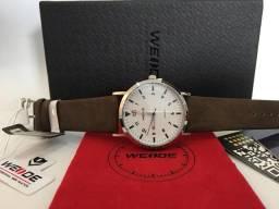 c74c12bb995 Relógio Promoção Weide Pulseira De Couro De Luxo Quartz
