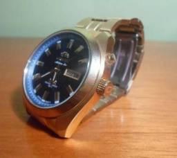 cda51383abe Relógio Automatic Dourado Orient Japanv - Original