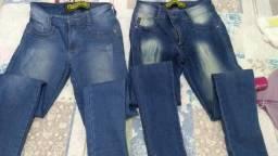 2 calças jeans por 80 reais 9b44afa6e79