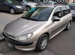 Peugeot 206 SW 1.4 Flex Completo - 2006
