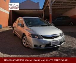 Honda Civic 1.8 aut LXL - 2011 *abaixo da fipe - 2011