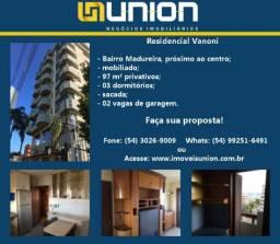 Oferta Imóveis Union! Apartamento mobiliado, próximo ao centro, no Madureira, com 97m²!