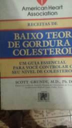 Livro American Heart Associatio - Guia De Receitas de Baixo Teor De Gordura e Colesterol