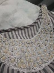 Vestido cinza P/M