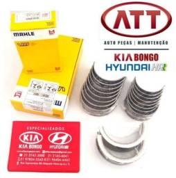 Jogo Bronzinas fixo e biela KIA bongo k2500 e Hyundai HR (metal leve)
