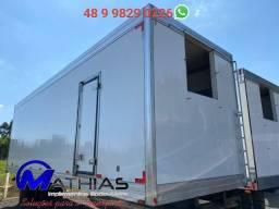 Bau rerigerado 16 paletes usado com garantia Mathias Implementos