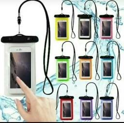 Capa impermeável celular proteja seu celular