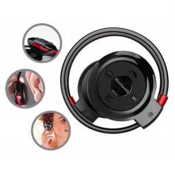 Fone Ouvido Sem Fio Bluetooth Stereo Universal Mini Bh-503 Corrida Esporte Caminhada