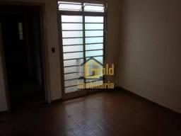 Casa com 2 dormitórios para alugar, 95 m² por R$ 900/mês - Ipiranga - Ribeirão Preto/SP