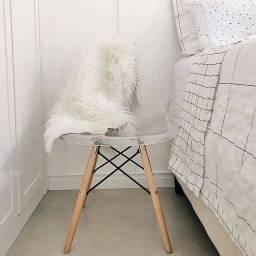 Cadeira charles eames eiffel Acrilica transparente