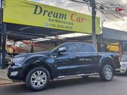 Ranger 3.2 xlt 4x4 cd 20v turbo diesel aut único dono na garantia de fábrica 2018