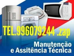 Conserto de máquina de lavar e geladeira