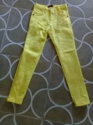 Calça masculina infantil nova