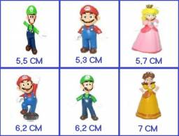 18 Bonecos do Super Mario (Action Figures) R$ 130,00 (novos)