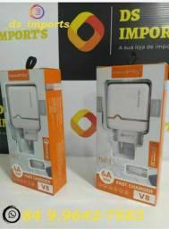Carregador pra smartphone Samsung, Xiaomi,  LG Motorola