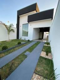 Linda!!! Casa de 3 Quartos - Bairro das Indústrias - Projeto Magnífico - 280 Mil