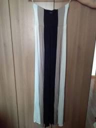 Vestido longo Mofficer