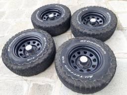 Jg pneus 265/70 R 16