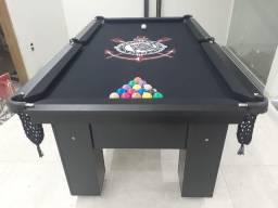 Mesa de Bilhar Charme Preta Tx Personalizada Modelo OJOJ6320