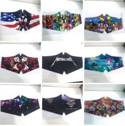 Estampamos tecido para máscaras e outros fins diversas estampas como desejar