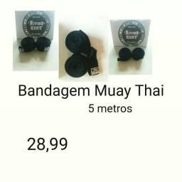 Bandagem Profissional Muay Thai 5 Metros Promoção Atacado