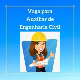 Vaga para Auxiliar de Engenharia Civil - Macaé / RJ