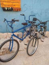 bicicleta para 2 pessoas e 4 pessoas
