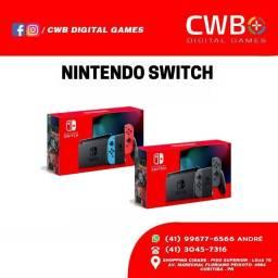 Nintendo Switch,novo lacrado e com garantia - Loja física