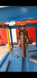 Alinhador e retifica de moto