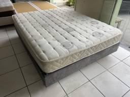 cama box Espuma latex queen size Maxflex - entrego