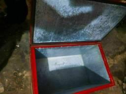 Caixa térmica em aço galvanizado