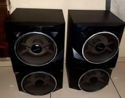 Caixas de som sony gpx77
