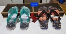 Sandálias top de linha da Reserva