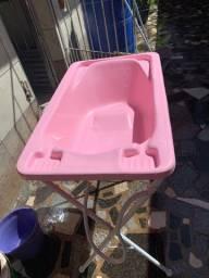 Vendo banheira Galzerano com suporte + ninho