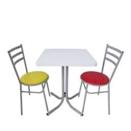 Título do anúncio: jogos de mesas e cadeiras para sorveteria,choperia,lanchonete,buffet-entrega rapida
