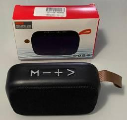 Mini caixa Speaker bluetooth preta