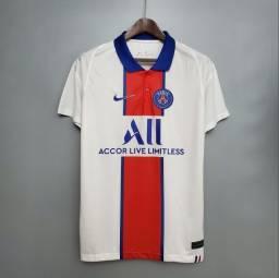 Camisa do PSG branca nova na embalagem