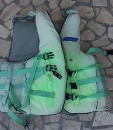 Colete salva vidas náutico asw até 130kg