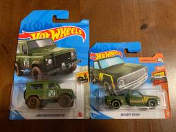 Hot wheels Land Rover e Chevy 69