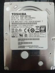 HD para notebook de 1 TB e de 500gb