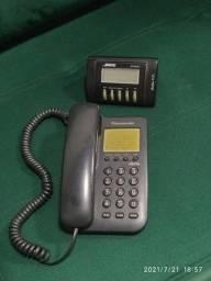 Telefone com fio Panasonic (bina vendida)