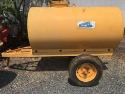 Pipa de água sem bomba 2000 litros