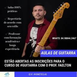 Aulas de guitarra ou violão